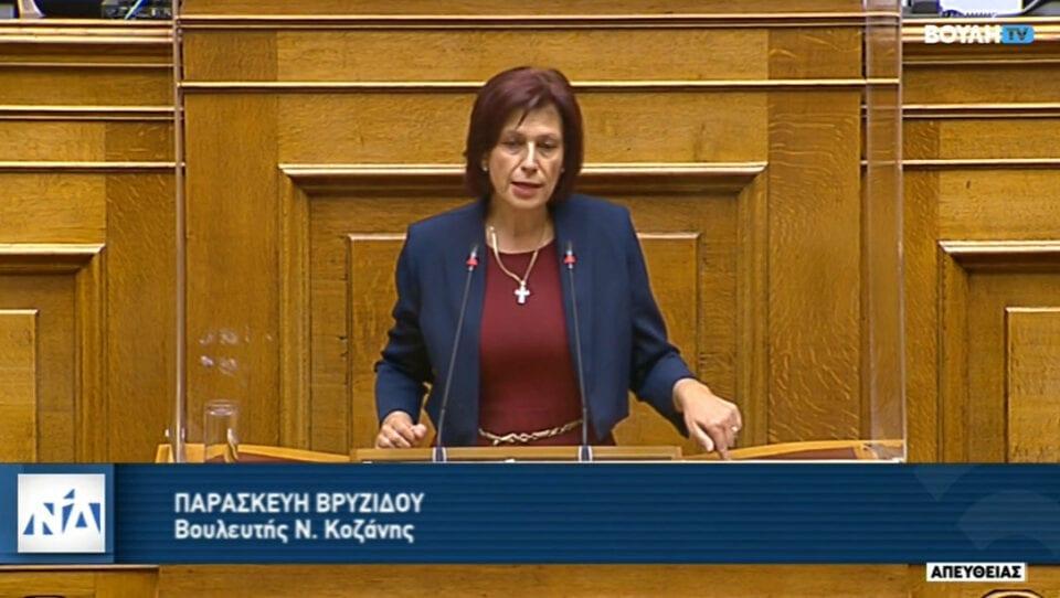_Π. Βρυζίδου: Ομιλία στην Ολομέλεια της Βουλής των Ελλήνων με θέμα: συζήτηση του σχεδίου νόμου του Υπουργείου Περιβάλλοντος και Ενέργειας «Εκσυγχρονισμός της Χωροταξικής και Πολεοδομικής νομοθεσίας», στις 3 Δεκεμβρίου 2020