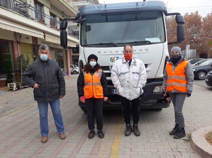 Πτολεμαΐδα: Μήνυμα αισιοδοξίας από τους εργαζόμενους στην Καθαριότητα