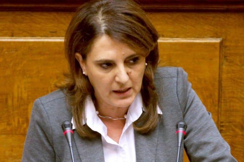 Ολυμπία Τελιγιορίδου για τα μέτρα που εξήγγειλε η κυβέρνηση για την απασχόληση λόγω βίαιης απολιγνιτοποίησης: «Δεν είναι πακέτο στήριξης της απασχόλησης, είναι δωράκι στους εκλεκτούς της ΝΔ»