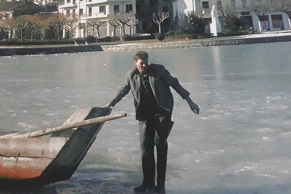 Μανώλης Νικολαϊδης   Ο «αξέχαστος» λιμνοφύλακας της Καστοριάς (Φώτο)
