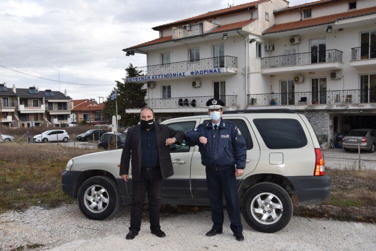 Προσφορά οχήματος στη Διεύθυνση Αστυνομίας Φλώρινας