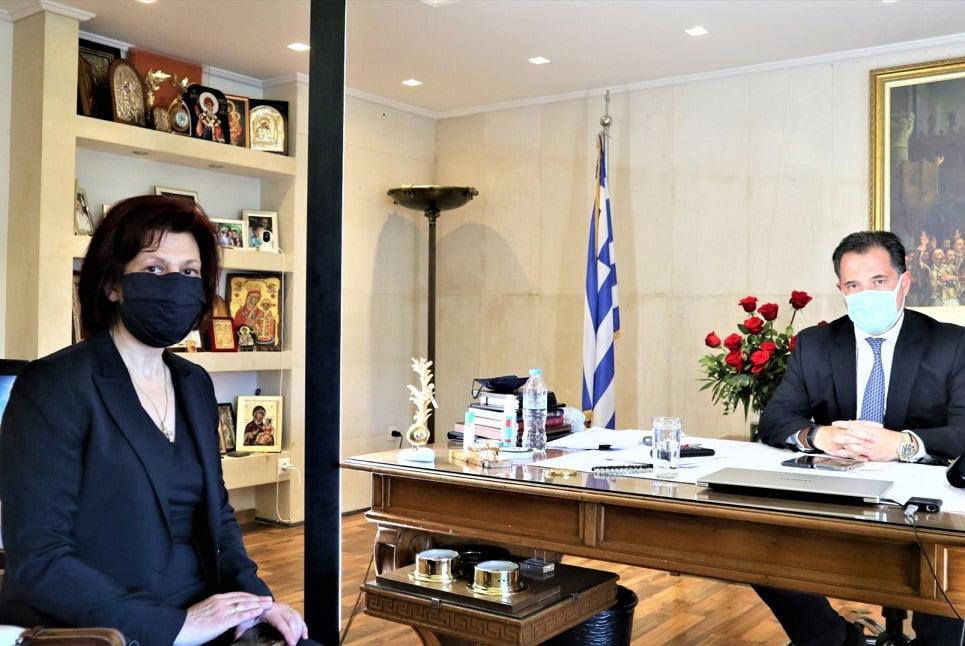Π. Βρυζίδου_Πρόσθετα μέτρα στήριξης στις επιχειρήσεις για την ΠΕ Κοζάνης από τον Υπουργό Ανάπτυξης κ. Άδωνι Γεωργιάδη