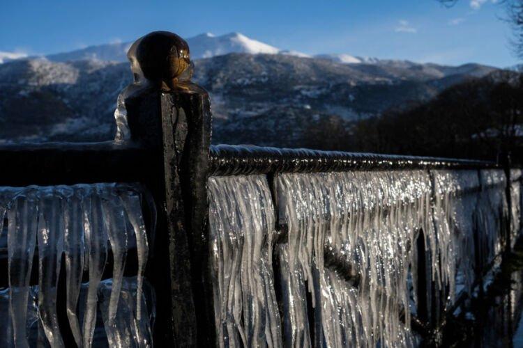 πολικές θερμοκρασίες: -25 έδειξε το θερμόμετρο στη δυτική μακεδονία