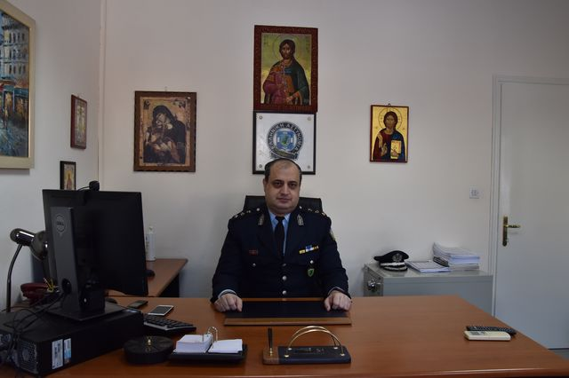 Nέος Διευθυντής της Διεύθυνσης Αστυνομίας Φλώρινας ο Αστυνομικός Υποδιευθυντής Παναγιώτης Γεωργιάδης του Παύλου.