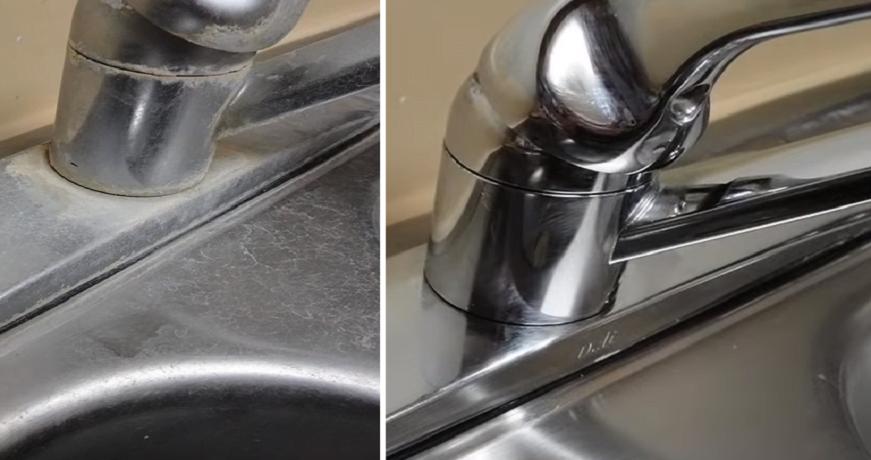 πώς να βγάλετε εύκολα τα άλατα στο νεροχύτη και τη βρύση