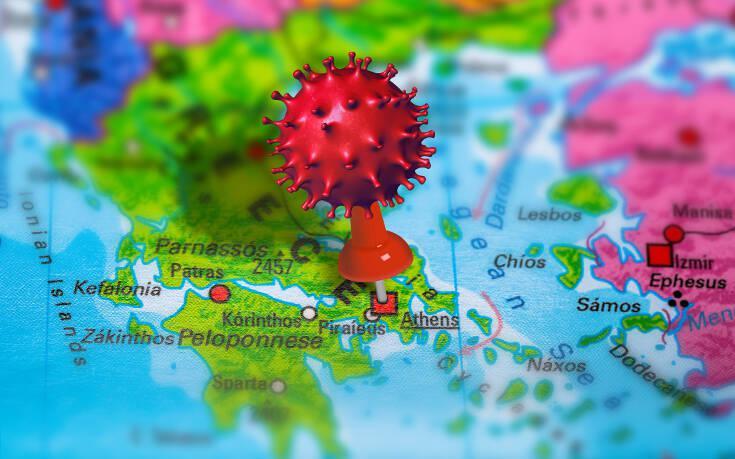 Κορωνοϊός 27/2: Ο χάρτης της πανδημίας