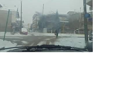 κακοκαιρία- η κατάσταση στους δρόμους της πτολεμαϊδας (δείτε το βίντεο - ώρα 15:00)