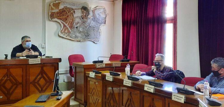 συνάντηση δημάρχου εορδαίας με τους προέδρους των κοινοτήτων κομάνου, μαυροπηγής, πτελεώνα και αναργύρων. συζήτηση για την πορεία των μετεγκαταστάσεων των οικισμών.