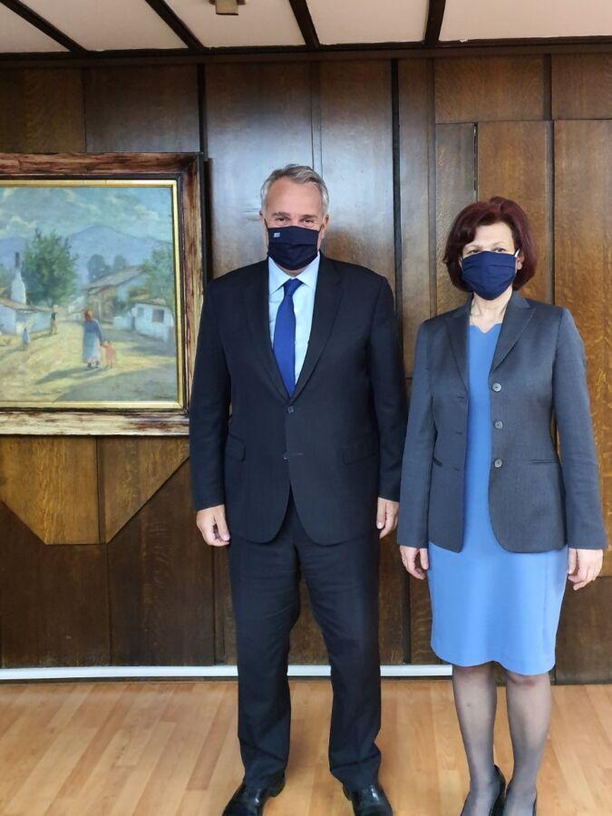 Τον Υπουργό Εσωτερικών κ. Μάκη Βορίδη συνάντησε η Βουλευτής Ν. Κοζάνης Παρασκευή Βρυζίδου