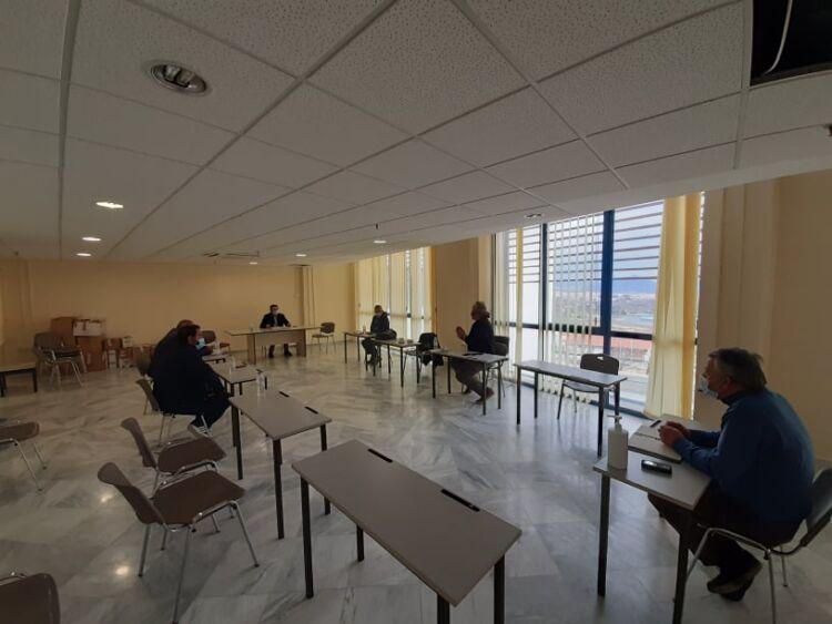 Συνάντηση Περιφερειάρχη με εκπροσώπους του νεοσύστατου συλλόγου Παραγωγών Λαϊκών Αγορών Π.Ε. Κοζάνης