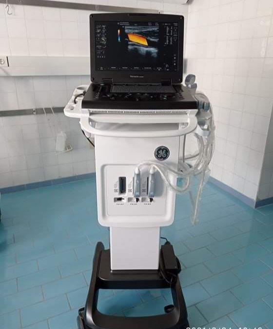 Μποδοσάκειο Νοσοκομείο Πτολεμαιδας : Παραλαβή Φορητού Υπερήχου για το Αναισθησιολογικό Τμήμα
