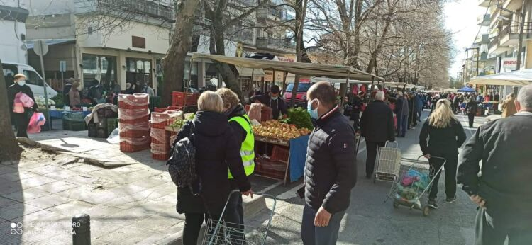 Δήμος Κοζάνης: Σε εξέλιξη η έρευνα πεδίου για τη βελτίωση της λειτουργίας των λαϊκών αγορών