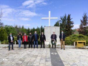 ΕΟΡΔΑΙΑ- ΚΚΕ :''Τιμήθηκαν τα θύματα των ΟΛΟΚΑΥΤΩΜΑΤΩΝ ''