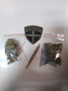 Σύλληψη δύο ημεδαπών, σε περιοχή της Κοζάνης, για κατοχή ναρκωτικών ουσιών