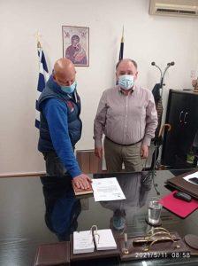 Μποδοσάκειο Νοσοκομείο : Ορκίστηκαν σήμερα δυο μόνιμοι υπάλληλοι της τεχνικής υπηρεσίας