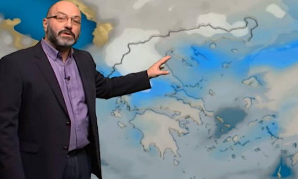 Σάκης Αρναούτογλου: Αυτή θα είναι η τάση του καιρού μέχρι τέλος Μάη (βίντεο)