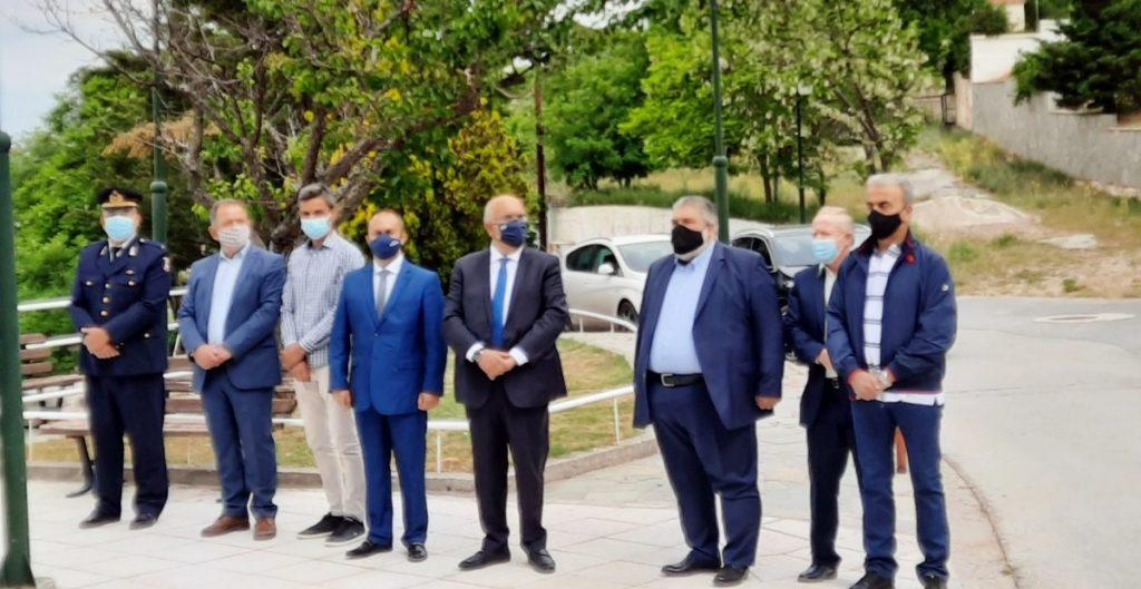 Εκδήλωση στη μνήμη των εκτελεσθέντων πραγματοποίησαν η Μαρτυρική Κοινότητα Ερμακιάς και ο Δήμος Εορδαίας.