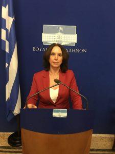 «Καλλιόπη Βέττα: Να ενισχυθούν στο 100% οι παραγωγοί των καλλιεργειών που καταστράφηκαν από τους πρόσφατους παγετούς - Κατάθεση κοινοβουλευτικής ερώτησης»