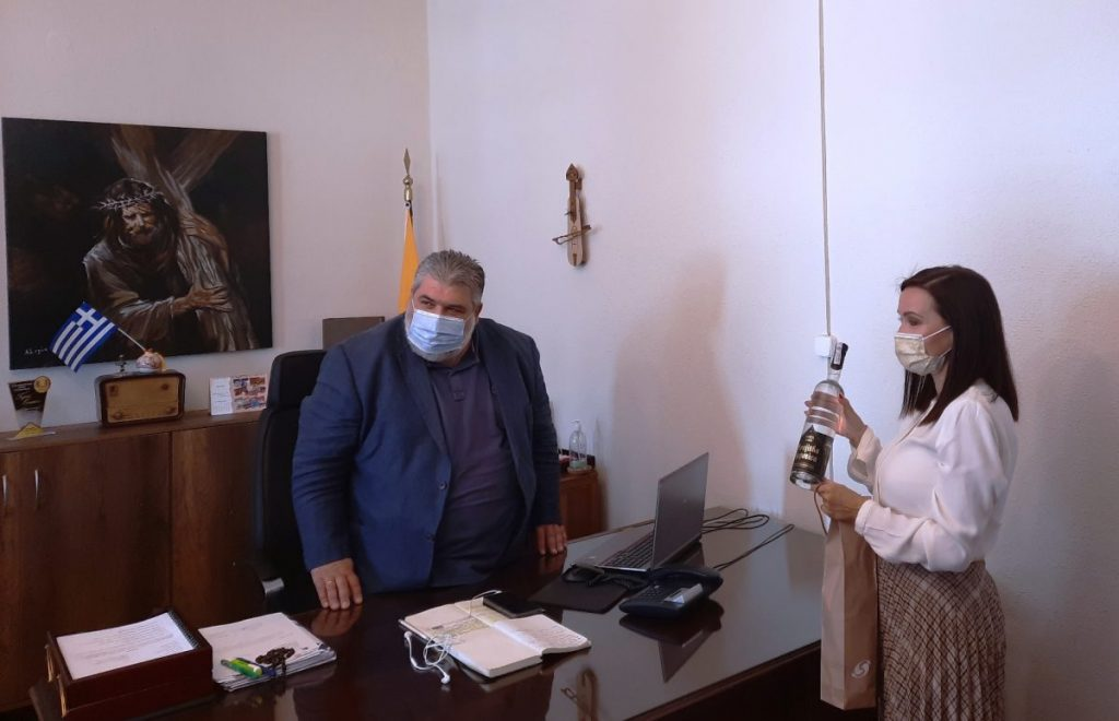 Η Πρέσβης της Βοσνίας-Ερζεγοβίνης επισκέφθηκε τον Δήμαρχο Εορδαίας.