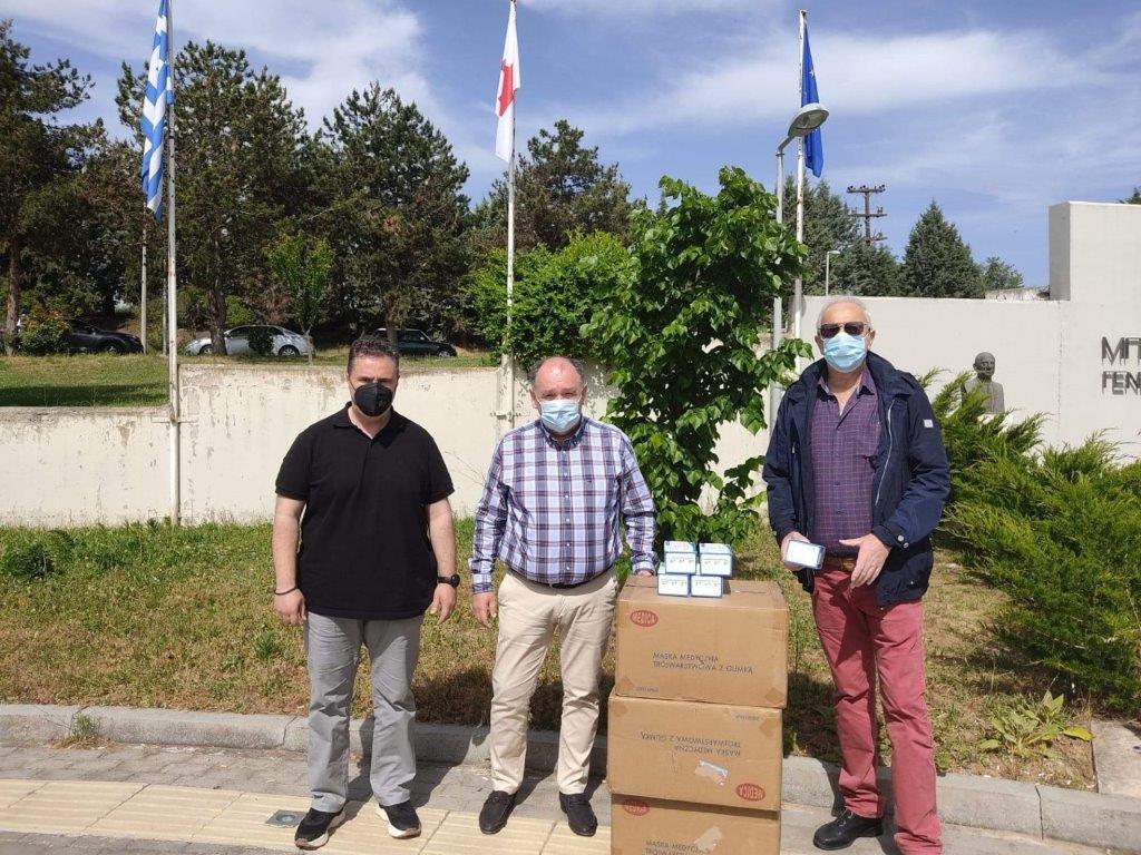 6000 χειρουργικές μάσκες, δωρεά (από τον Όμιλο ΚΑΤΑΚΗΣ) στο Μποδοσάκειο Νοσοκομείο Πτολεμαΐδας !