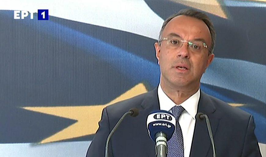 Σταϊκούρας: Μέτρα 3 δισ. -Η πρόβλεψη για τον ΕΝΦΙΑ και το «όχι» σε μέτρα λιτότητας από το 2022