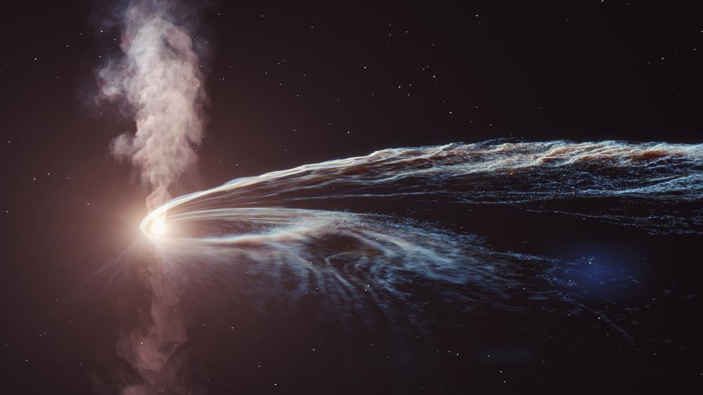 Δείτε μια μαύρη τρύπα να «καταβροχθίζει» ένα αστέρι