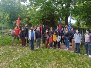 Πραγματοποιήθηκε η εκδήλωση της ΤΕ Ενεργειακού Κέντρου του ΚΚΕ στο μνημείο των 3 σοβιετικών στρατιωτών