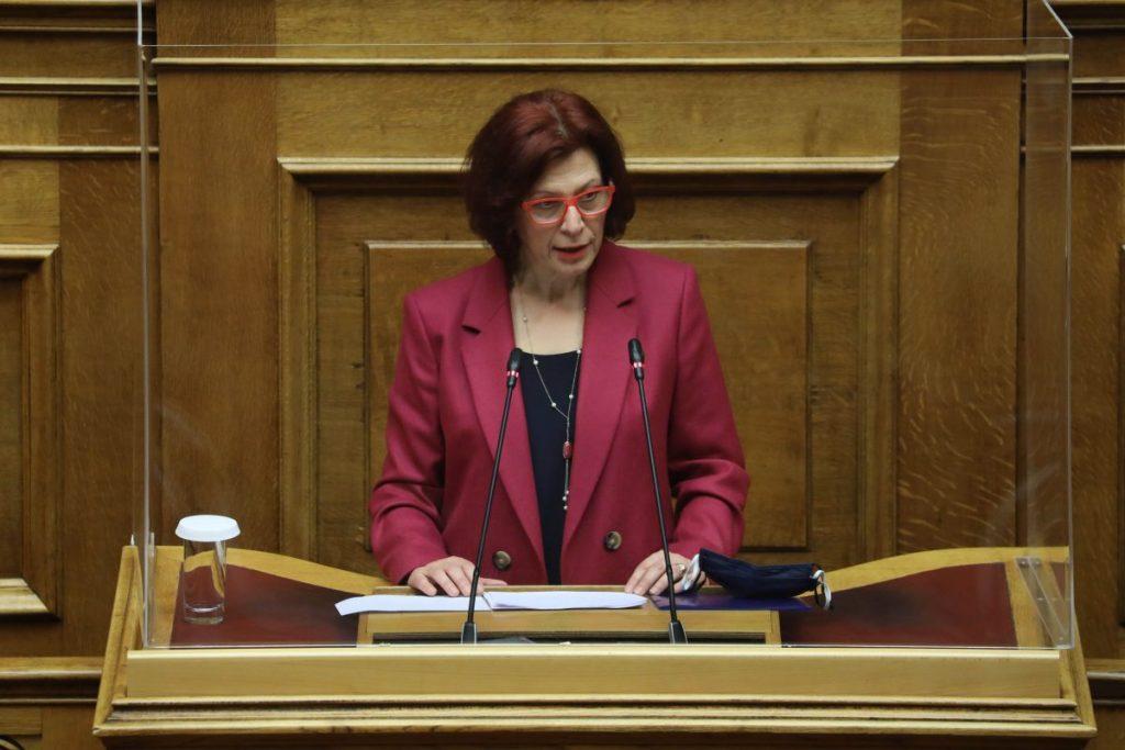 Π. Βρυζίδου: Ομιλία για την ψήφο των Αποδήμων Ελλήνων, στην Ολομέλεια της Βουλής στο νομοσχέδιο του Υπουργείου Εσωτερικών «Άρση περιορισμών για την εγγραφή στους ειδικούς εκλογικούς καταλόγους εκλογέων εξωτερικού».