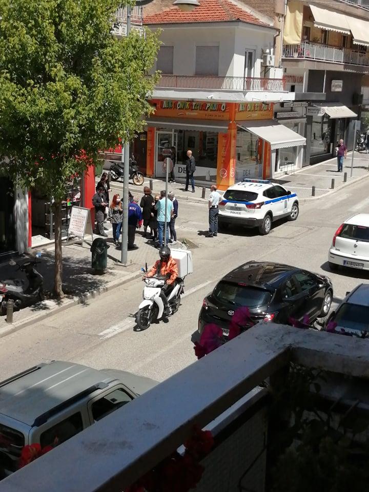 Νεκρός 55χρονος που Έπεσε από ύψος στην οδό Επισκόπου Βενιαμίν στην Κοζάνη