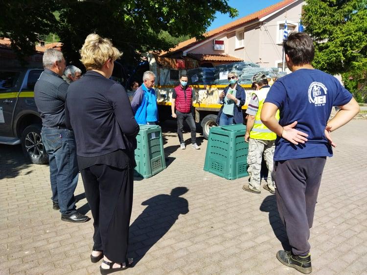 Εκδηλώσεις για την παραλαβή κάδων οικιακής κομποστοποίησης στις Κοινότητες Βαρικού, Λεχόβου και Λεβαίας του Δήμου Αμυνταίου