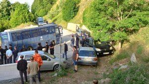 ''EΠΕΣΕ'' τo μπλόκο του Νυμφαίου . Ισχυρές Αστυνομικές δυνάμεις στην περιοχή - Πιάνουν δουλεία τα μηχανήματα της εταιρίας για να στηθούν ανεμογεννήτριες. (βίντεο-φωτο)