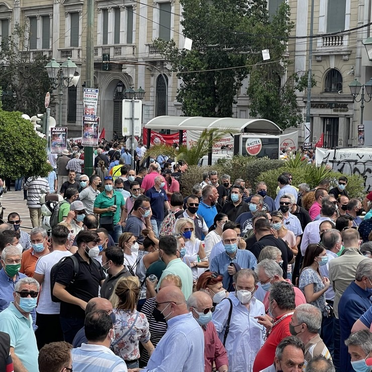 Η συμμετοχή στην απεργία και τις συγκεντρώσεις ξεπέρασε κάθε προηγούμενο