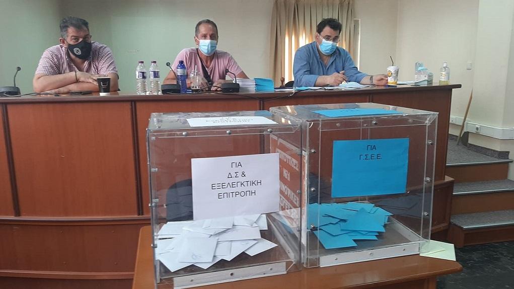 Πρώτη η ΔΑΚΕ στις εκλογές του Εργατικού Κέντρου Κοζάνης