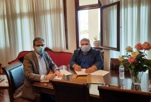 Συνάντηση Δημάρχου Εορδαίας με τον Πρύτανη του Πανεπιστημίου Δυτικής Μακεδονίας. Υπογραφή Μνημονίου Συνεργασίας.
