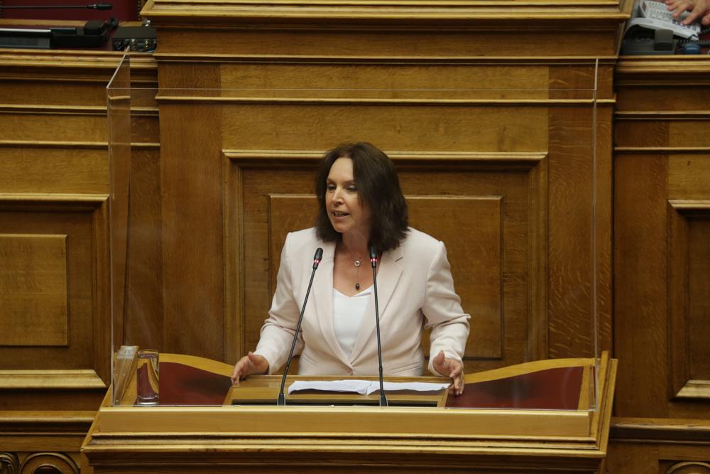 Ερώτηση και Αίτηση Κατάθεσης Εγγράφων της Ραλλίας Χρηστίδου, της Καλλιόπης Βέττα και 42 ακόμα Βουλευτών του ΣΥΡΙΖΑ για την οριζόντια απαγόρευση της μουσικής στους χώρους εστίασης.