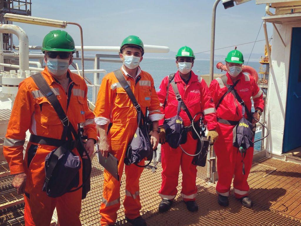 Επιθεώρηση στον Πρίνο πραγματοποίησε η Ελληνική Διαχειριστική Εταιρεία Υδρογονανθράκων