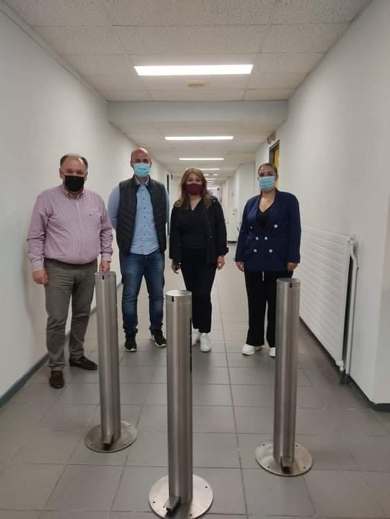 Συνεχίζονται οι δωρεές στο Μποδοσάκειο νοσοκομείο Πτολεμαΐδας.
