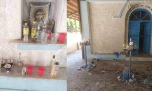 Σέρρες: Ούτε ιερό ούτε όσιο – Άγνωστοι μετέτρεψαν το παρεκκλήσι σε… μπαρ (pics)