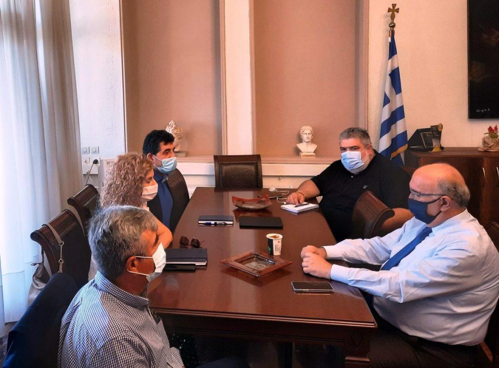 Συνάντηση Δημάρχου Εορδαίας Παναγιώτη Πλακεντά με τον Αν. Διευθύνοντα Σύμβουλο ΟΣΕ (βίντεο)
