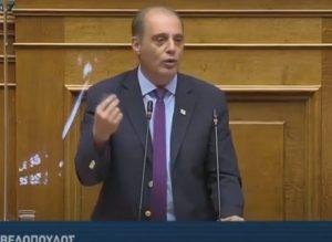 Κ.Βελόπουλους προς Χατζηδάκη στη Βουλή- ''Είσαι Υπουργός τον Ρεπό- Σου λέγαμε μη πουλάς τη ΔΕΗ- ΛΑΡΚΟ ''(βίντεο)