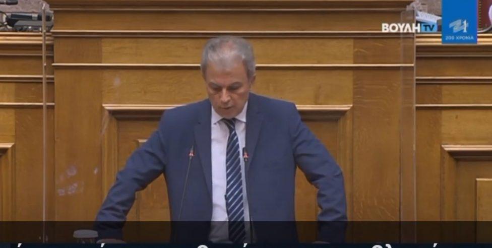 Γιώργος Αμανατίδης: Ομιλία (Ολομέλεια) στο Σχέδιο Νόμου του Υπουργείου Εσωτερικών με τίτλο «Εκλογή Δημοτικών και Περιφερειακών Αρχών»