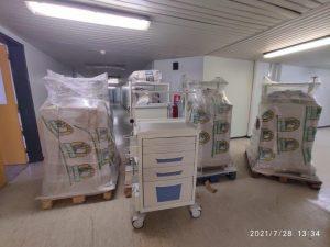 Παραλαβή νέου Ξενοδοχειακού Εξοπλισμού, στο Μποδοσάκειο νοσοκομείο Πτολεμαΐδας