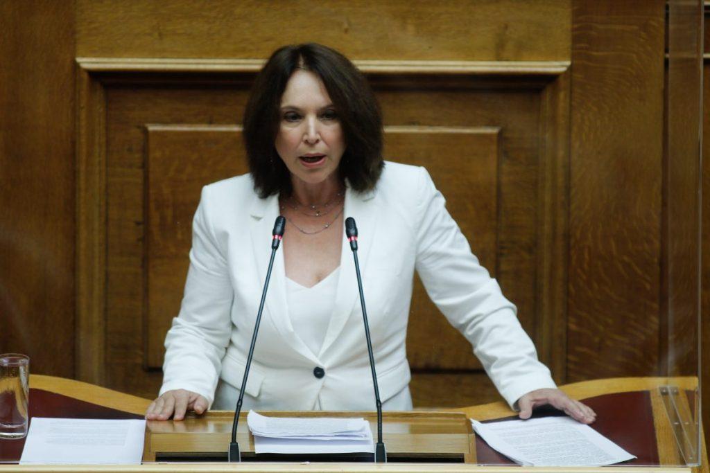 Η Βουλευτής ΣΥΡΙΖΑ Π.Σ. Π.Ε. Κοζάνης κ. Καλλιόπη Βέττα μίλησε στην Διαρκή Επιτροπή Μορφωτικών Υποθέσεων στο πλαίσιο της συζήτησης για το νομοσχέδιο του Υπουργείου Παιδείας και Θρησκευμάτων.