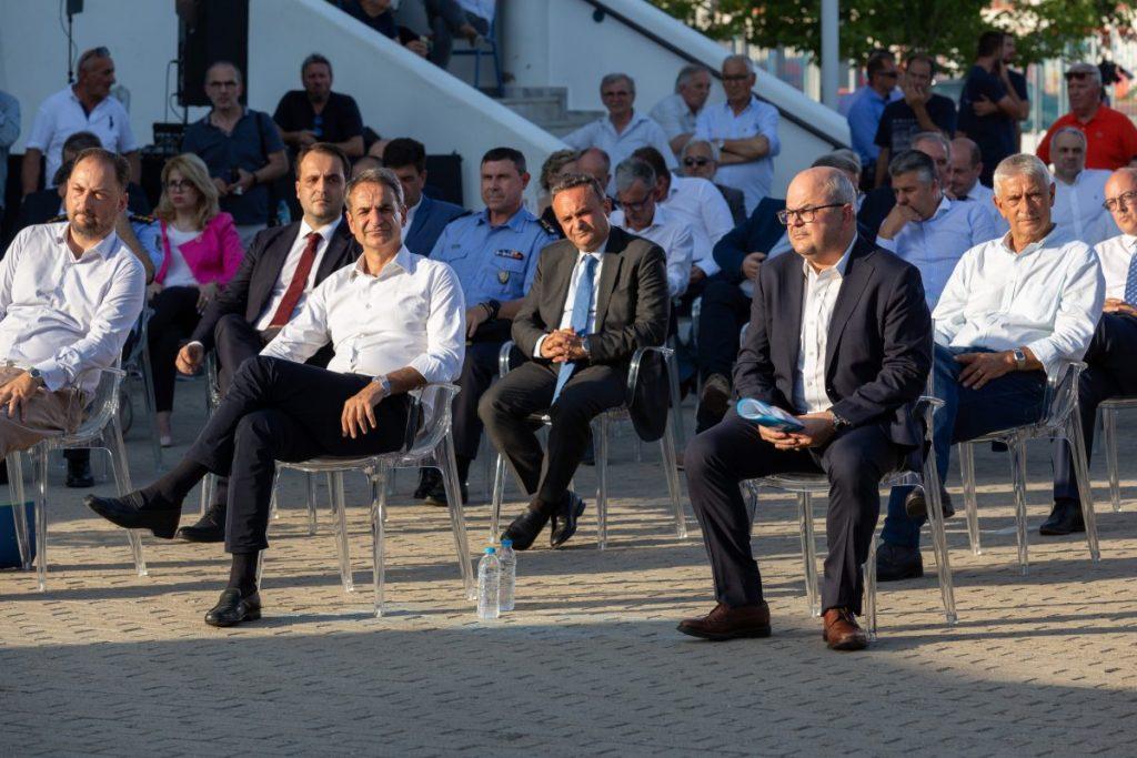 Παρουσία του Πρωθυπουργού Κυριάκου Μητσοτάκη, πραγματοποιήθηκαν στην Ξάνθη τα εγκαίνια για την επέκταση του δικτύου διανομής φυσικού αερίου στην Περιφέρεια ΑΜΘ