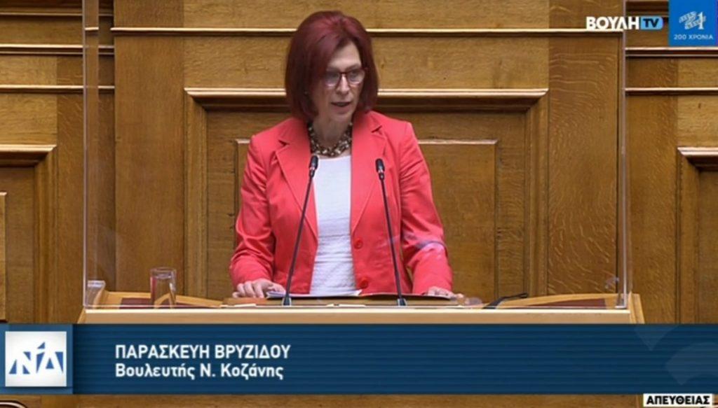 Ομιλία Π. Βρυζίδου στο ν/σ του Υπουργείου Οικονομικών «για ενσωμάτωση οδηγιών της ΕΕ για το ΦΠΑ σε εξ αποστάσεως πωλήσεις και παροχή υπηρεσιών, για τροποποιήσεις στο πρόγραμμα ΗΡΑΚΛΗΣ και ρυθμίσεις οφειλών και παροχή 2ης ευκαιρίας» στην Ολομέλεια της Βουλής