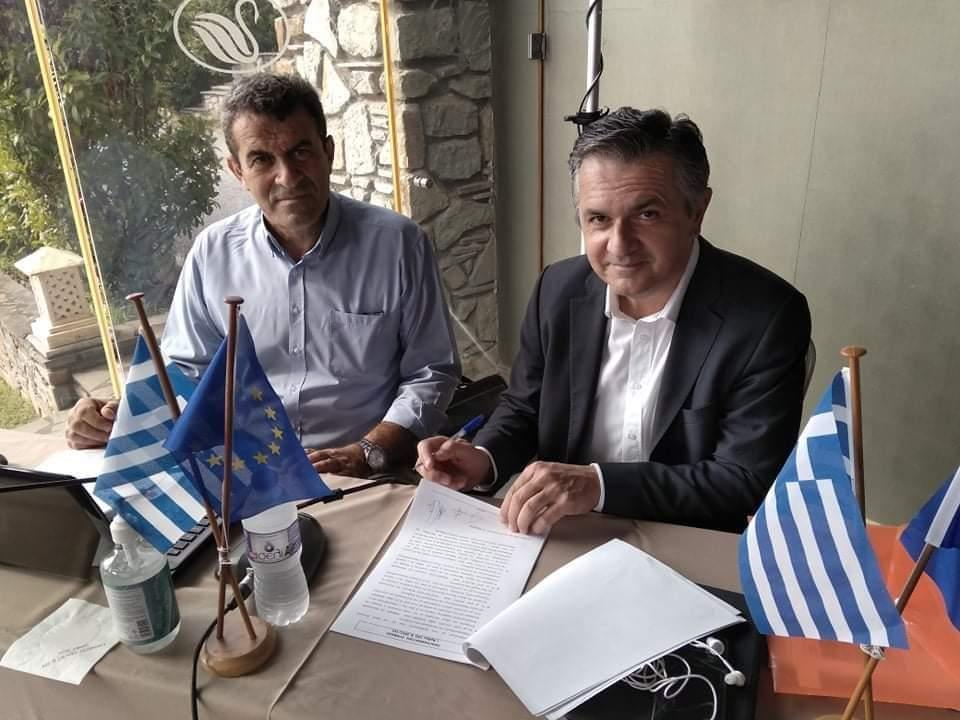 Υπογράφτηκε η Προγραμματική Σύμβαση για την Στήριξη της Επιχειρηματικότητας της Π.Ε. Καστοριάς, προϋπ. 1.000.000 ευρώ από τον Περιφερειάρχη Δυτικής Μακεδονίας Γ. Κασαπίδη και τους τρεις Δημάρχους.