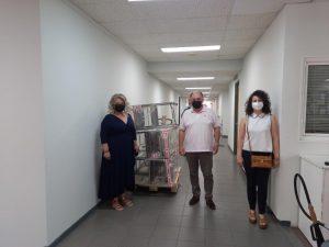 Μποδοσάκειο νοσοκομείο Πτολεμαΐδας : Δωρεά πέντε (5) τροχήλατων καροτσιών από τον Φαρμακευτικό Σύλλογο Κοζάνης