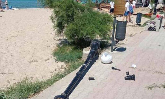 Xαλκιδική: Ανεμοστρόβιλος «χτύπησε» τα Ν. Μουδανιά – Τέσσερα άτομα τραυματίστηκαν σοβαρά