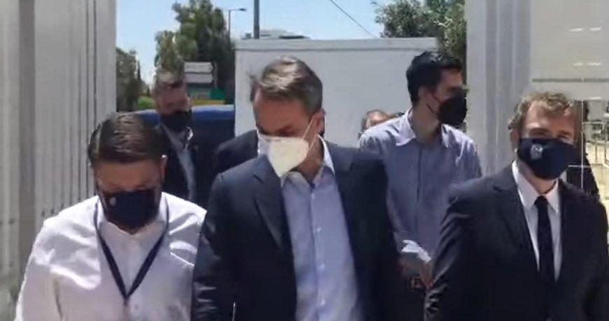 ΕφΣυν: Ο Μητσοτάκης παραβίασε τα μέτρα για κορωνοϊό για τη Φενέρμπαχτσε