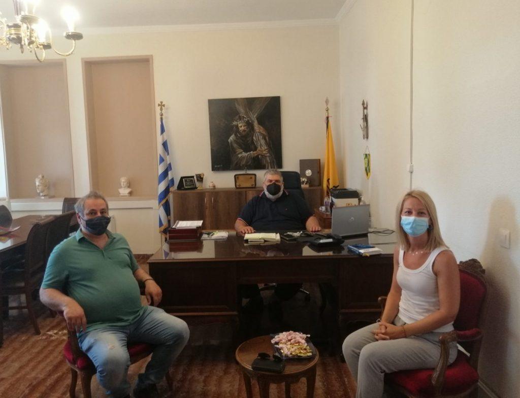 «Συνάντηση του Προέδρου του ΤΕΕ/ΤΔΜ με τον Δήμαρχο Εορδαίας»